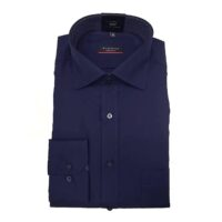 Eterna Camicia No Stiro Art.1303 col.19 Blu Scuro