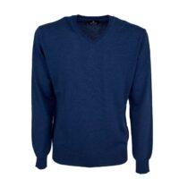 Blusalina maglia 100% lana merinos scollo v art.bs240