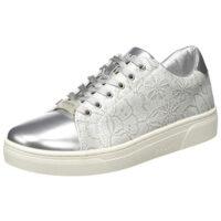 Bugatti 431877015950, Sneaker Donna, Argento (Silver/White 1320)