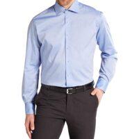 Eterna Camicia No stiro art.8100-x177 col.12 azzurro