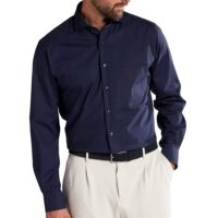 Eterna Camicia No stiro art.1300-x14v col.19 blu scuro