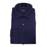 Eterna Camicia No Stiro Art.1303 Blu Scura